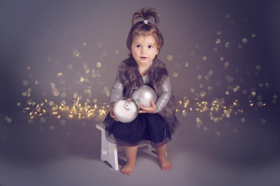 vánoční foto dětí brno