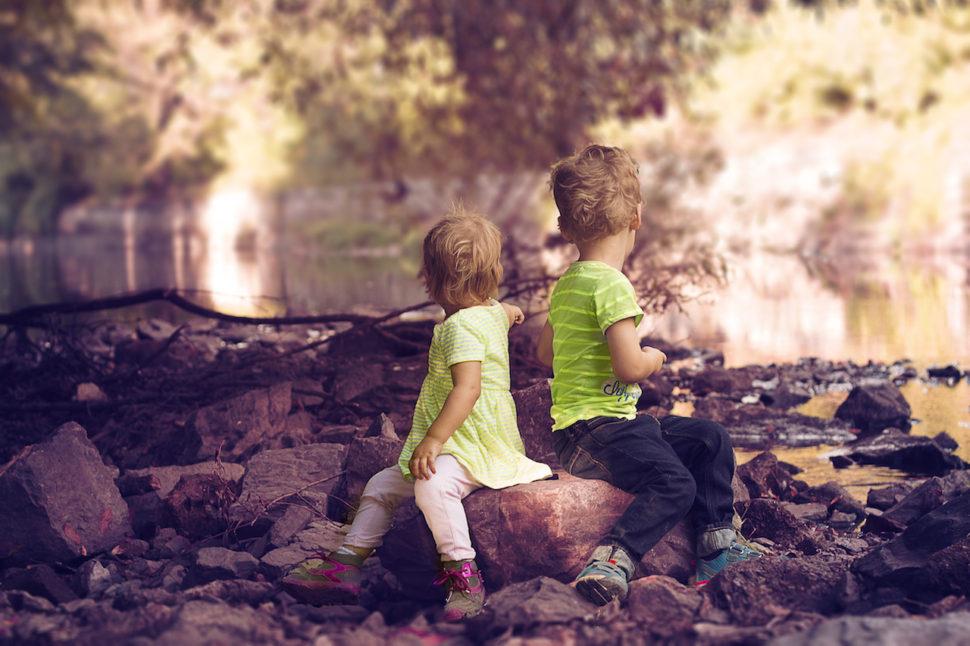 focení dětí v přírodě brno