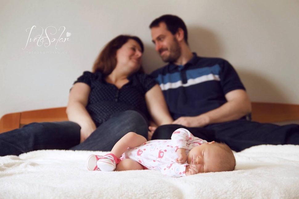 focení newborn dětí a miminek v Brně