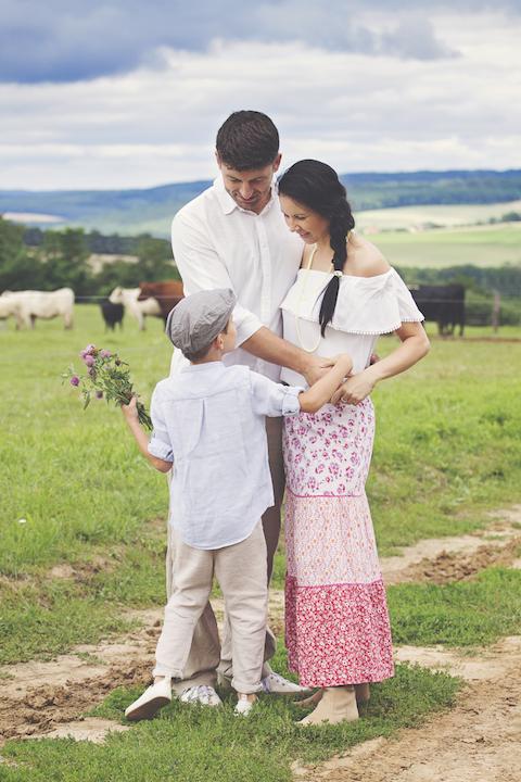 exteriérové focení dětí a rodin brno fotografka iveta solařová